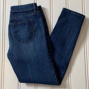 ❤️ Loft Modern Skinny legged Blue Jeans SZ 4 ❤️